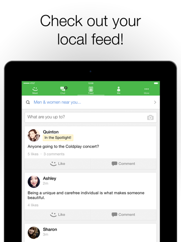 Meetme request too fix how to high rate On meetme,