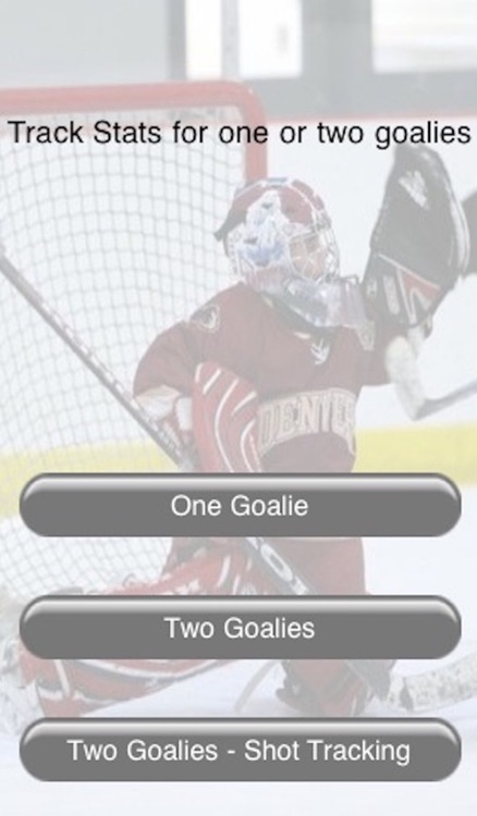 Hockey's Goalie Saves Tracker