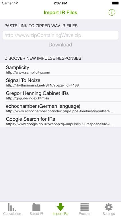 Mobile Convolution Reverb screenshot-3