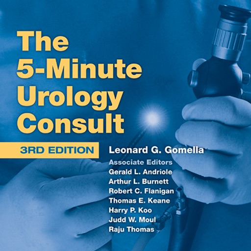 The 5 Minute Urology Consult,Third Edition