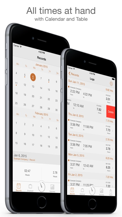 Working Hours Diary Pro