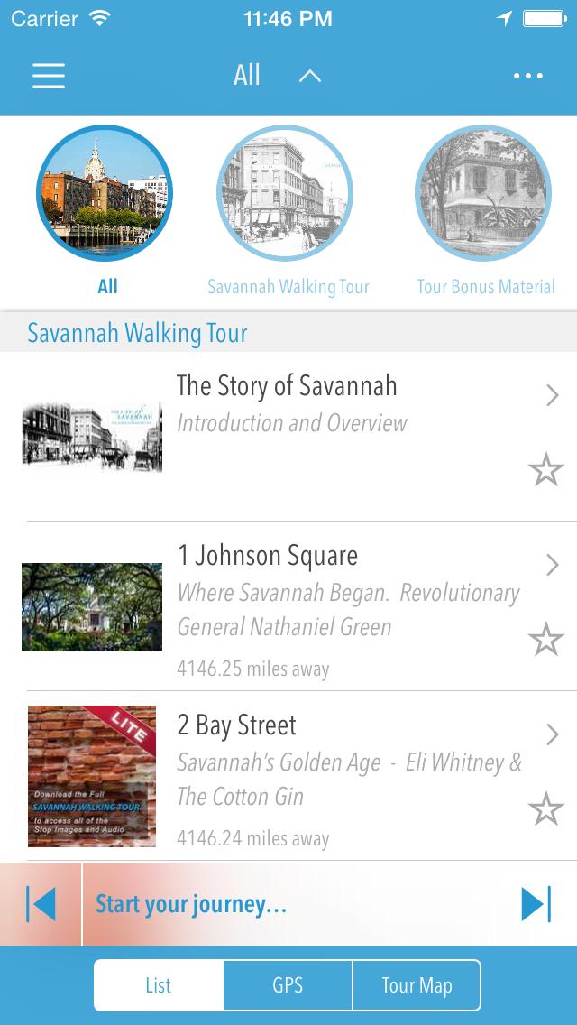 LITE: Savannah Walking Tour screenshot two