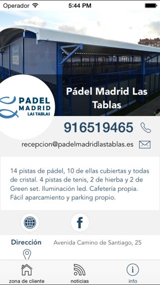 Pádel Madrid Las TablasCaptura de pantalla de1