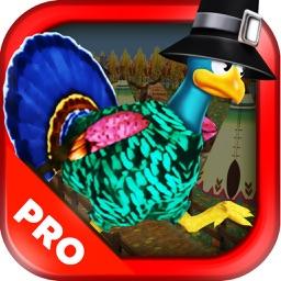 3D Turkey Run Thanksgiving Runner Game PRO