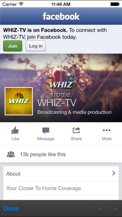 WHIZ News FM screenshot three
