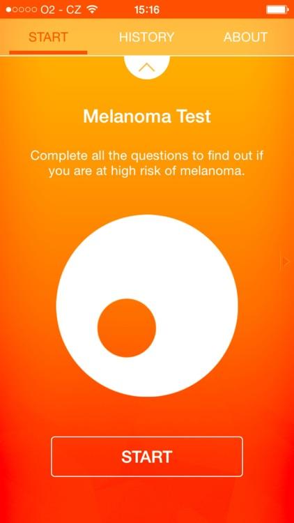 Melanoma Test - risk calculator of skin cancer screenshot-3