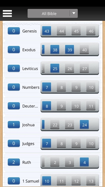 Bible Reading Tracker screenshot-1