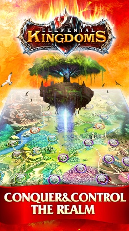 Elemental Kingdoms (CCG) screenshot for iPhone