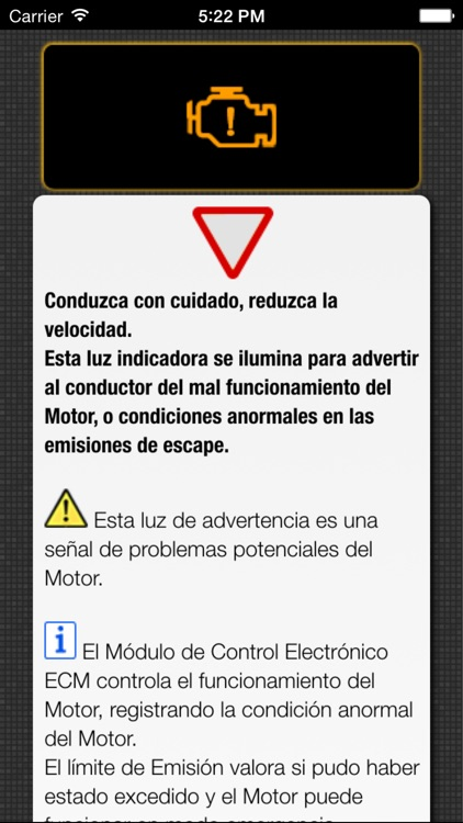 Luces de Advertencia y Problemas con Coches - Asistencia Vial para los Conductores screenshot-3