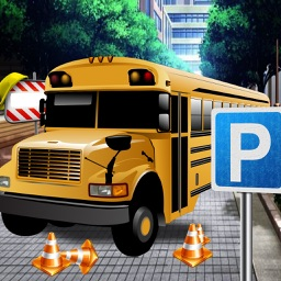 3D Bus Driver Parking Stunt Champ