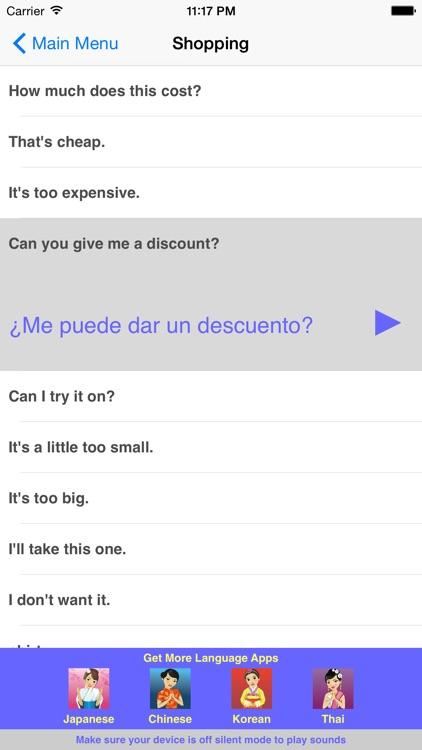 Speak Spanish Travel Phrasebook