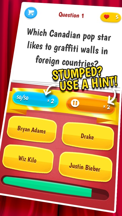 Celebrity Quiz – A Trivia Game Full Of Celebrity Gossip screenshot-3