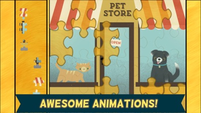 Pet Games for Kids: Cute Cat, Dog, and Fun Animal Puzzles Screenshot on iOS