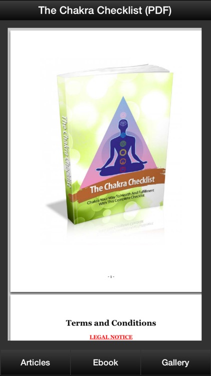 Chakra Healing Guide - Improve Your Quality Of Life With Chakra Meditation! screenshot-3