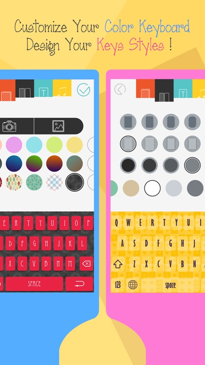 Color Keyboard for iOS 8 - Free Customize Emoji and Sticker Keyboards Skins & Background