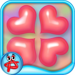Valentine Hearts: Match 3 Puzzle