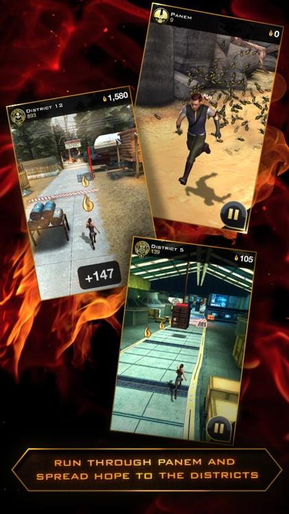 Hunger Games: Catching Fire - Panem Run screenshot-4