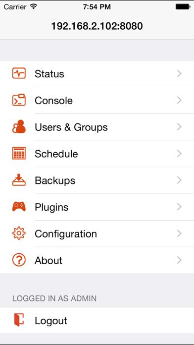 McMyAdmin Mobile for Minecraft Server Adminsのおすすめ画像5