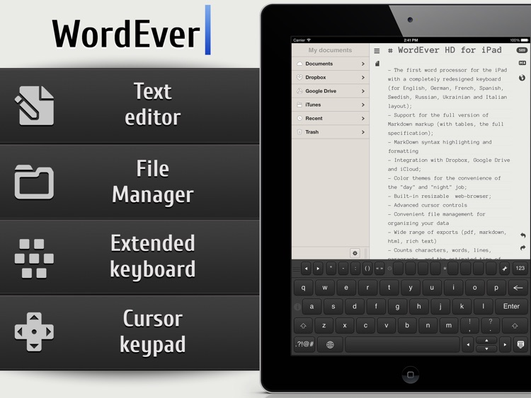 WordEver - MarkDown Text Editor screenshot-0