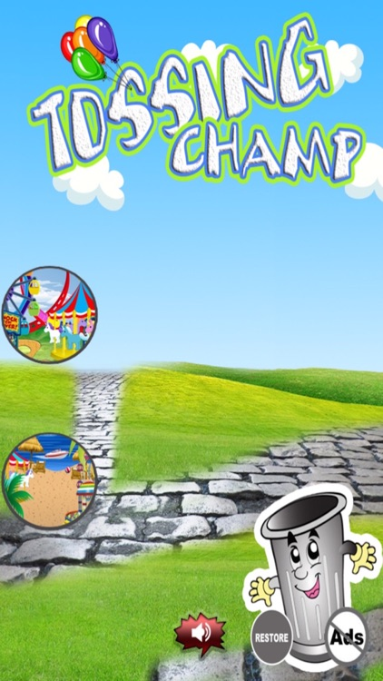Tossing Champ - Toss Objects into the Garbage Can