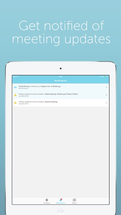 Meetin.gs – Schedule & organize business meetings and appointments with Lync, Skype, Hangouts and teleconferences screenshot-3