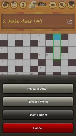 Easy Crossword - Anagram - Pack 1! Screenshot