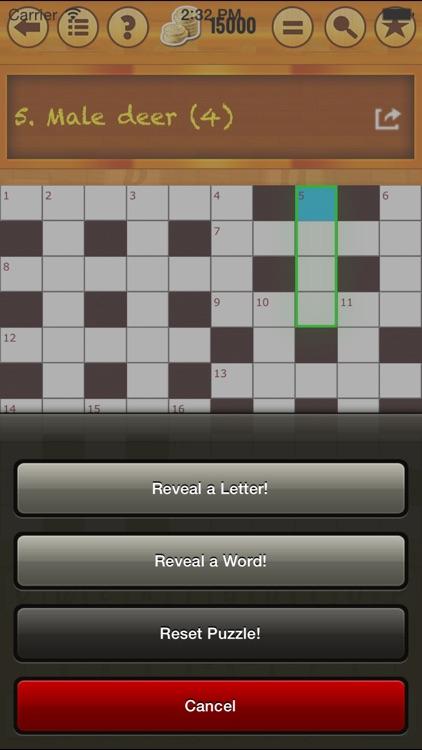 Easy Crossword - Anagram - Pack 1! screenshot-4