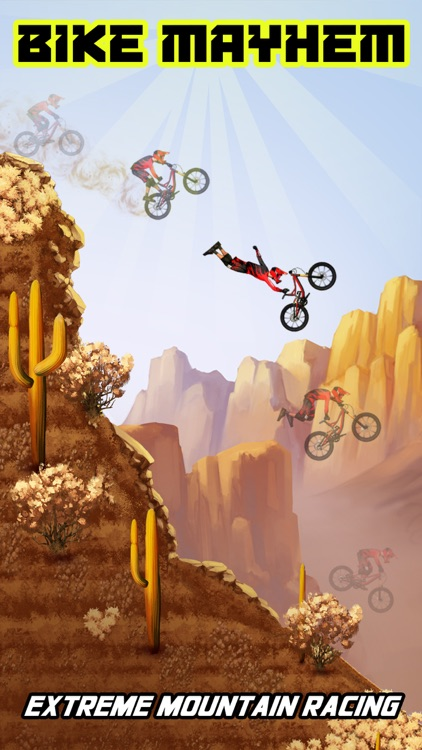 Bike Mayhem Mountain Racing screenshot-0