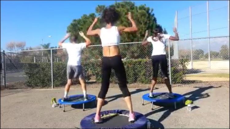 Rebounder Fitness Master Class screenshot-3