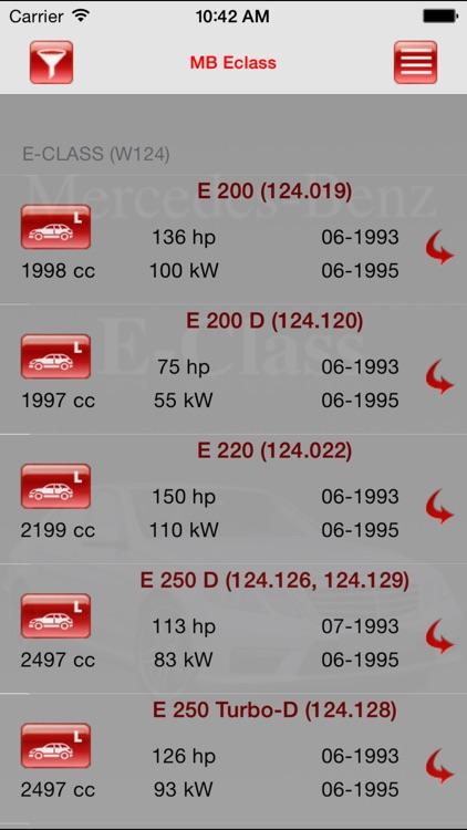 Autoparts Mercedes-Benz E-class screenshot-4
