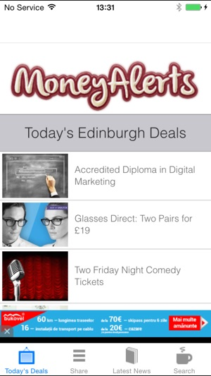 ncrowd deals edinburgh
