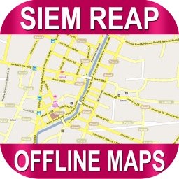 Siem Reap Offlinemaps With Route Finder
