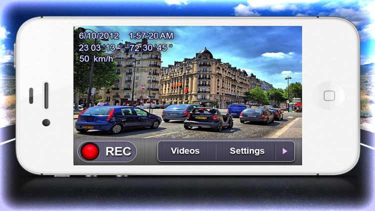 Car Camera DVR - Car Driving Recorder + Maps