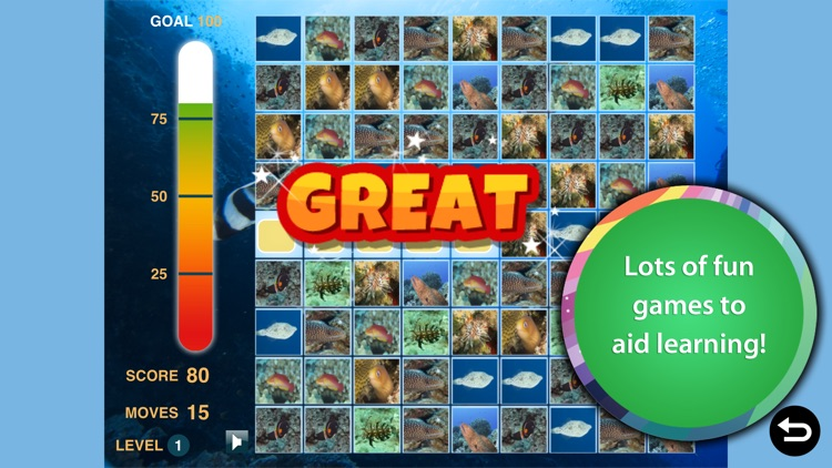 Ocean Animal Learning - Educational Games, Books and Videos about Marine Life by b-creative Journey screenshot-3