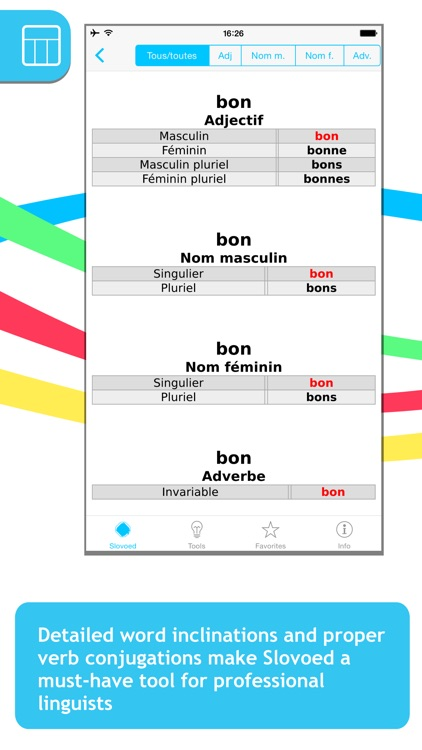 French <-> Italian Slovoed Compact talking dictionary screenshot-4