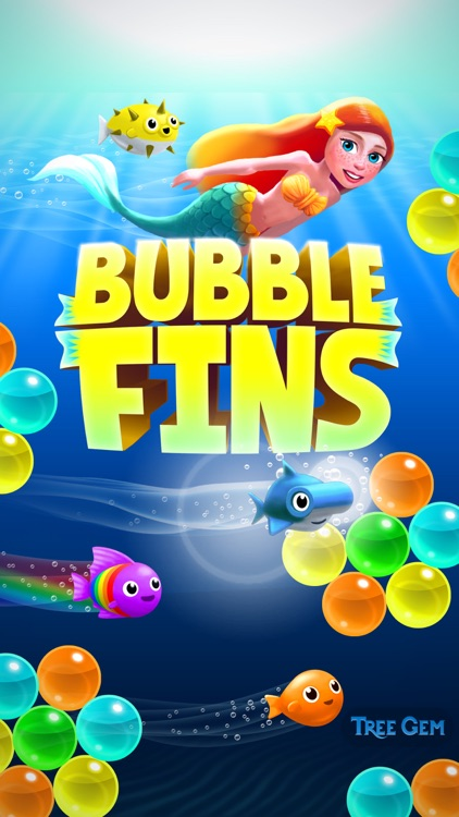 Bubble Fins - Bubble Shooter