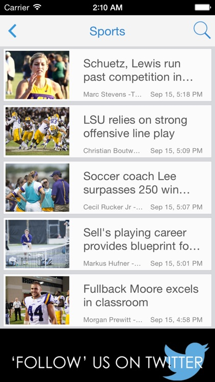 LSU Reveille screenshot-1