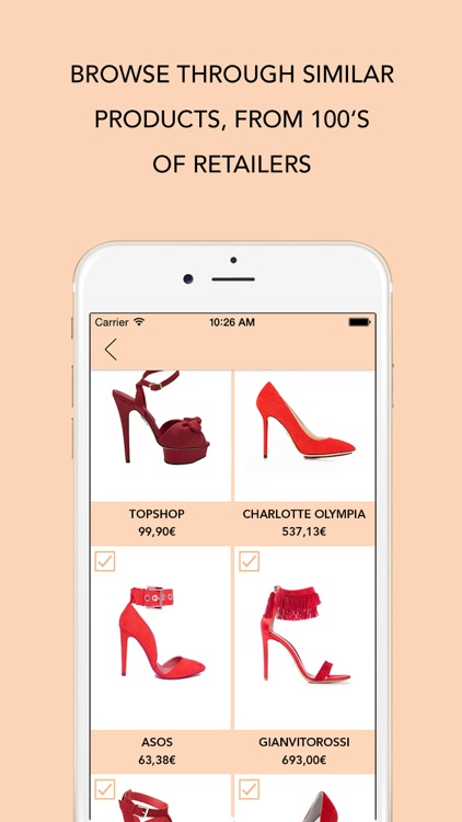 INSPO - The Style Search App. Create fashion trends with your selfie or streetstyle pics, share or shop the look