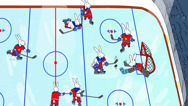 Bob and Bobek: Ice Hockey Screenshot