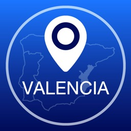 Valencia Offline Map + City Guide Navigator, Attractions and Transports