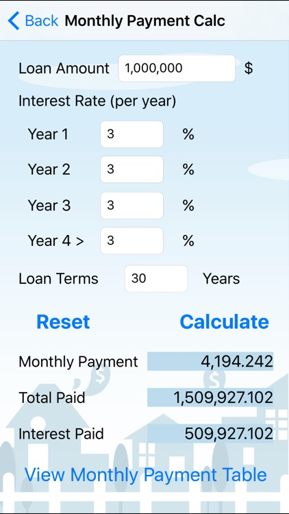 Home Loan Cal - EN screenshot-1