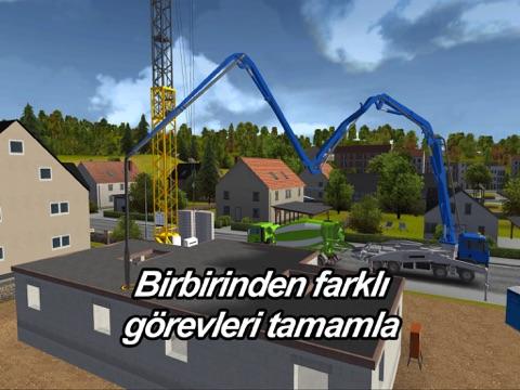 Construction Simulator 2014 ipad ekran görüntüleri