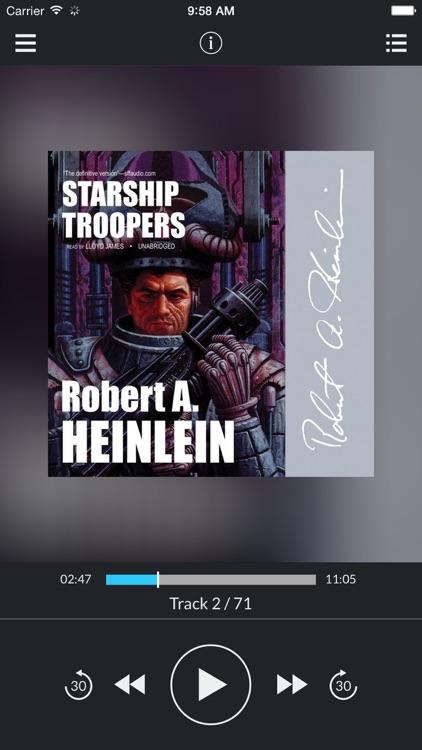 Starship Troopers (by Robert A. Heinlein) (UNABRIDGED AUDIOBOOK)