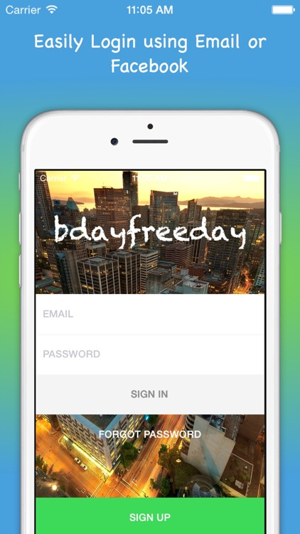 bdayfreeday - Birthday Free Deals locator and Daily Deal connector App screenshot-4