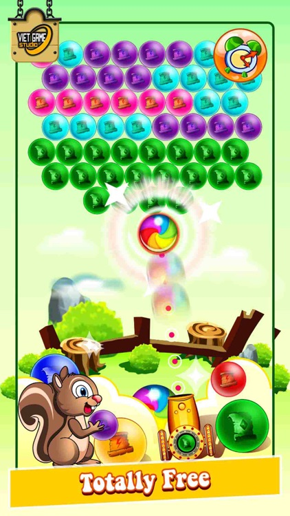 Bubble Shooter IQ Saga HD Pro Edition 2.0 - Egg Shoot Dynomite Jungle Mania Version 3.0 screenshot-3