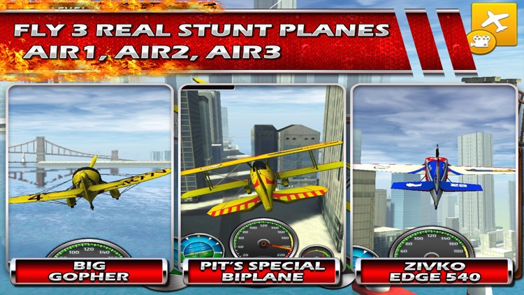 Stunt Baron Metal Wings xtreme a 3d bandit airplane pilot screenshot-0