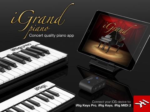 Screenshot #5 pour iGrand Piano for iPad