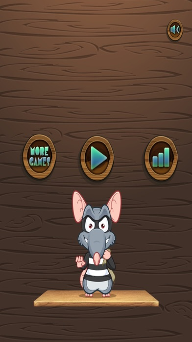 Amazing Thief Mouse Jump: Don't Trip and Fall