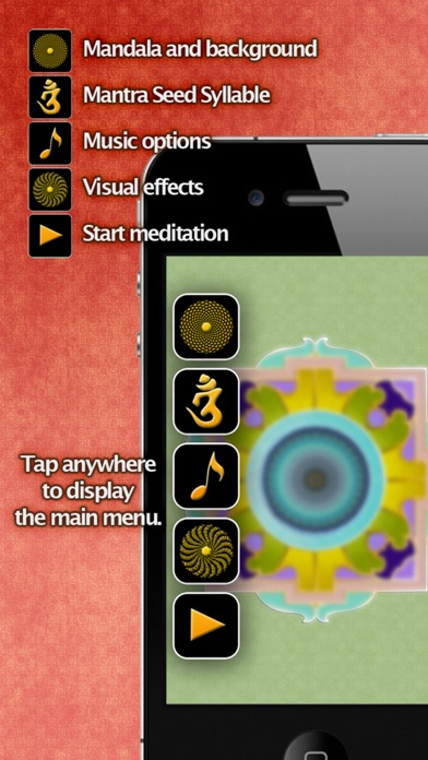 iMandala - Mandala Meditation, Relaxing Sounds, Visuals screenshot four