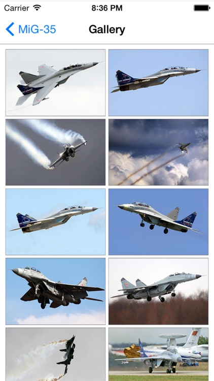 Russian Military Aircraft Appreciate Guide -iPhone screenshot-2